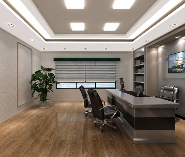 LED筒灯办公室照明案例