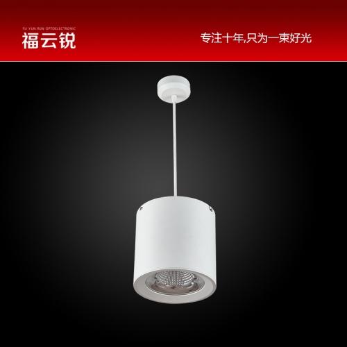 圆形吊线LED明装筒灯