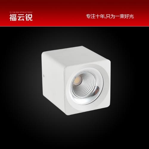 方形LED明装筒灯